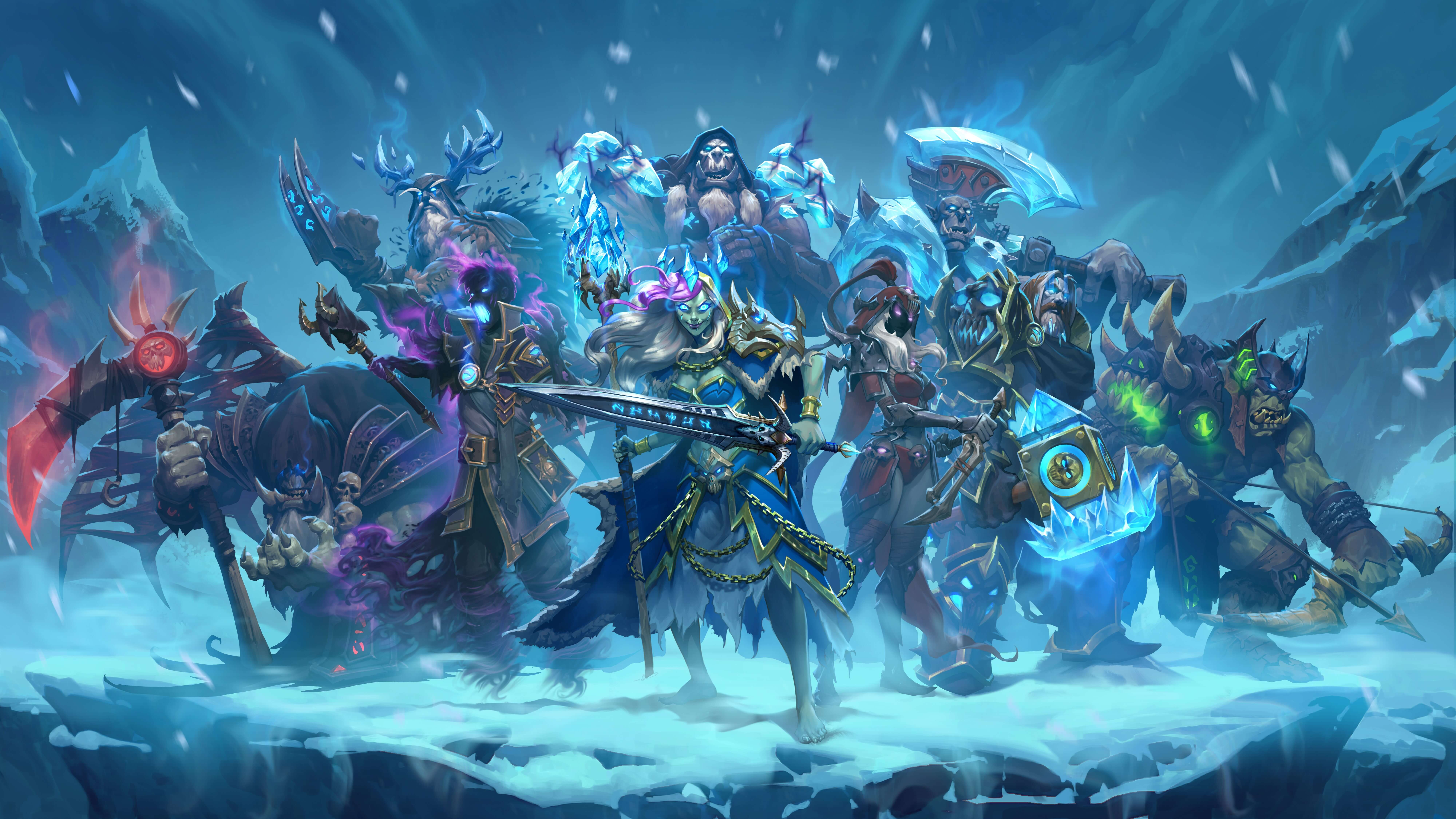 Hearthstone-Ritter-des-Frostthrons-Artwork-2